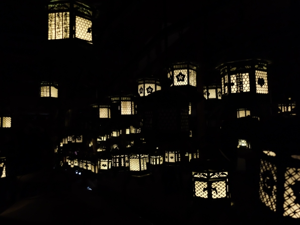 Lanterns. In the Dark. With Mirrors. Breathtaking.