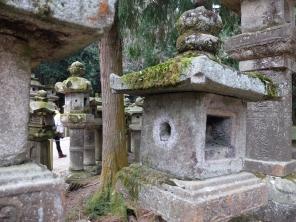 2000 stone lanterns line the paths to Kasuga Taisha Shrine