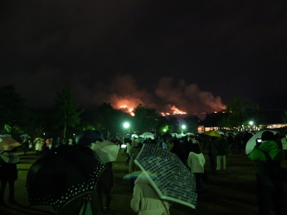 Nara is on fire.