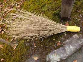 Good for sweeping moss