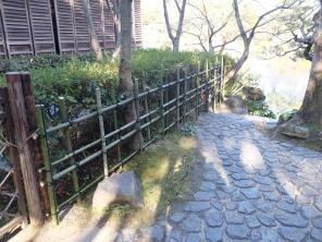 Finished yotsu megaki fence