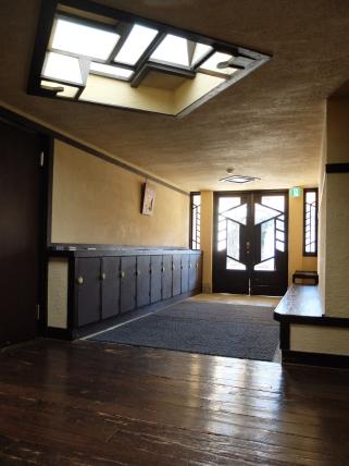 It was designed by Frank Lloyd Wright