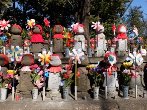 This is definitely kawaii. National holiday dress at Zojojii temple. Which is Buddhist.