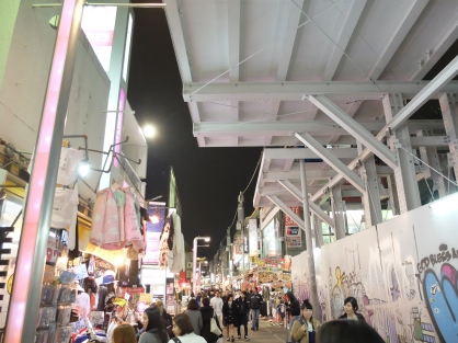 Harajuku, home of cosplay and lolita girls and all other crazy things