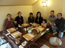 Matsuse-sensei was so kind to treat us to lunch at an amazing ex-sake brewery restaurant