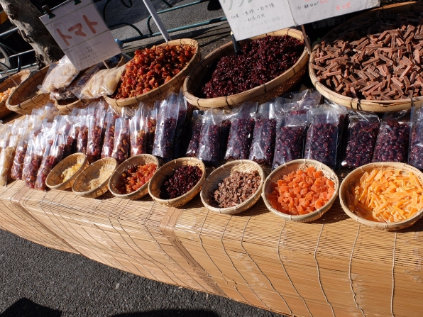 Really delicious dried fruits & vegetables