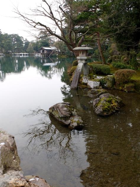 Famous two-legged lantern: Kotojitoro