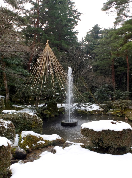 The oldest fountain in Japan