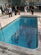 People in the pool!