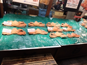 MASSIVE crabs. Not sure if these are spider crabs or not
