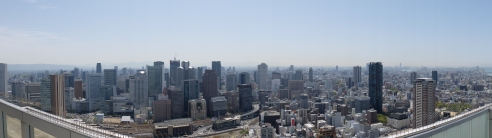 The View from Osaka Sky Tower